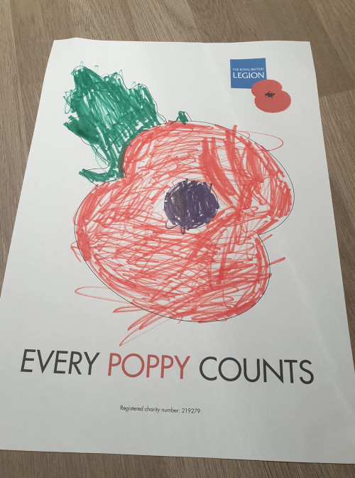 Kitty Flockhart's fantastic picture of a Poppy