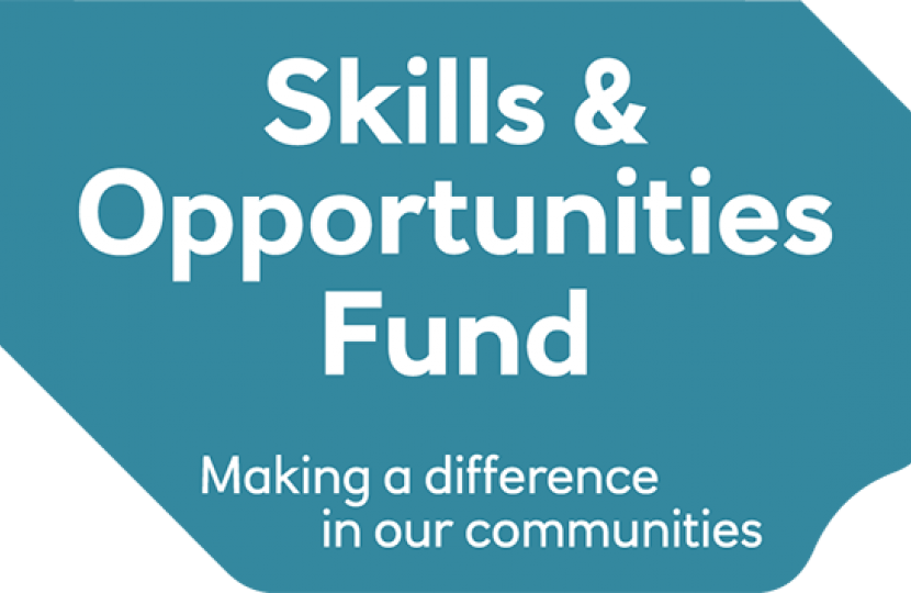 RBS, Robert Buckland MP, Funding, Skills and Opportunities Fund