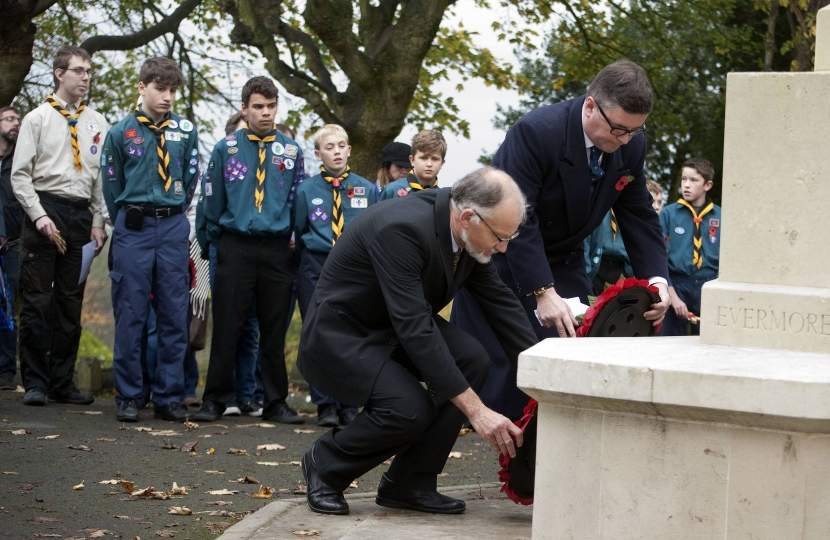 Robert Buckland MP calls for support for First World War Memorial Programme as it arrives in Wiltshire
