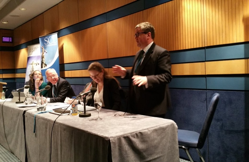 Robert Buckland MP at Conservative Party Conference