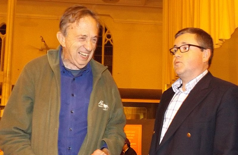 Lord Joffe with Robert Buckland MP