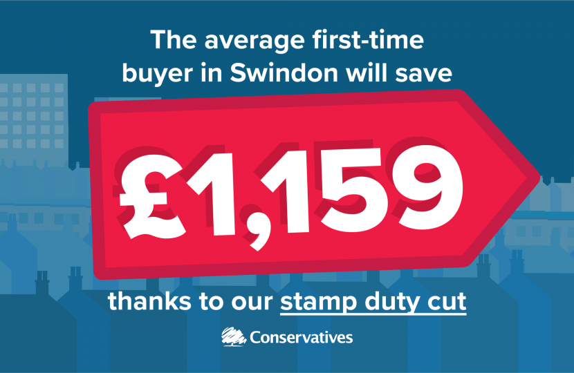 Swindon Stamp Duty Average Saving