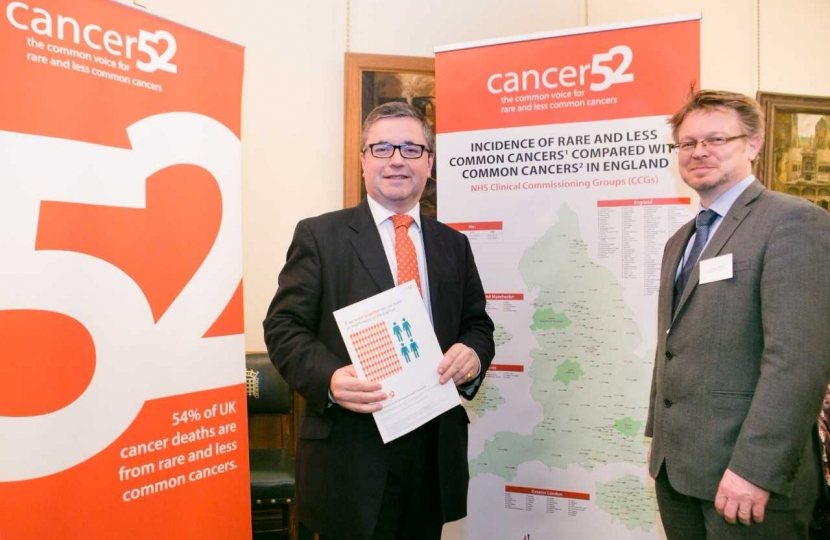 Robert Buckland QC MP Pictured with Jonathan Pearce