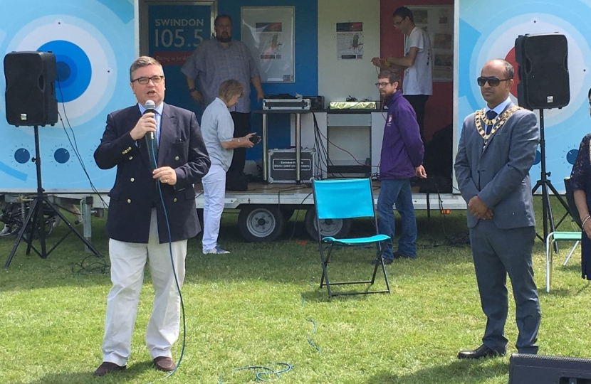 Robert Buckland MP, Armed Forces Day 2018