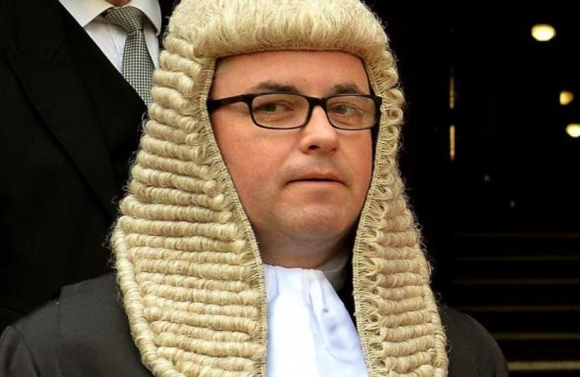 Solicitor General, Robert Buckland QC MP