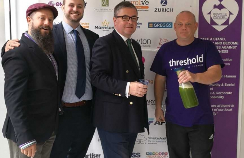 Grand Opening of Threshold's Health and Wellness Juices Shop