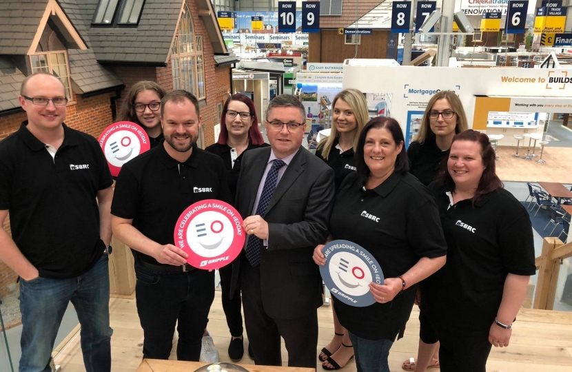 National Self Buidl Centre Robert Buckland MP
