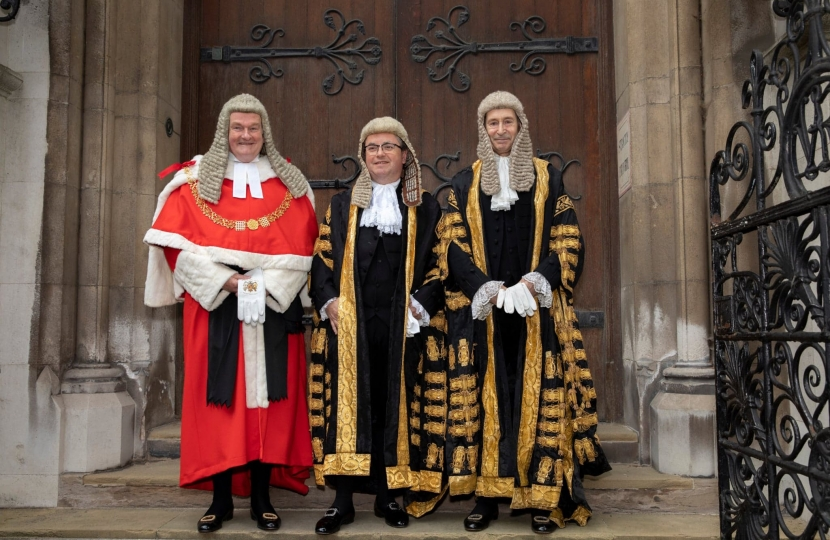 The Rt Hon Robert Buckland QC MP Sworn in as Lord Chancellor