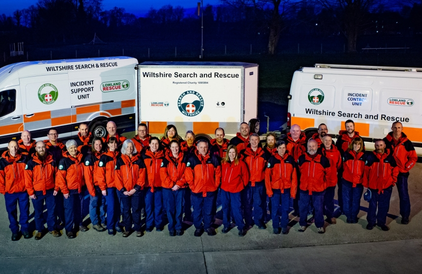 The Wiltshire Search and Rescue Team